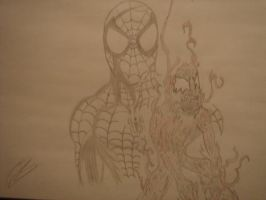 spidey and carny by ArtismyDeath