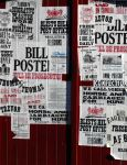 Stock - Layered bills and posters by rockgem