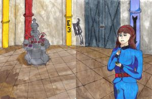 Violet and the Juicing Room comic Wraparound Cover by timebaby3