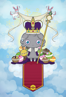 All hail lord Espurr! by UsagiNoOu