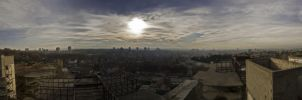 Belgrade Panorama by LordBalder