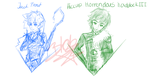 Dreamworks Boys sketch mess by aerith31