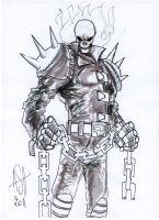 Ghost Rider by scarecrowhassan