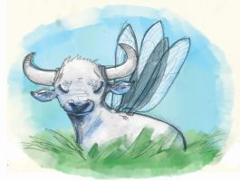 fairy bull by ReinardFox