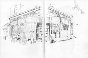 Clive's Hardware Shop by BythewayBill