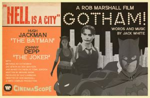 Gotham Rob Marshall by Hartter
