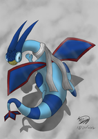 Sky the Flygon by Threehorn