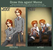 Meme - Draw This Again 2011 by riotfaerie