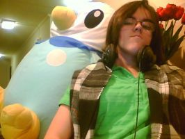 GIANT STUFFED PIPLUP by pokemoneg