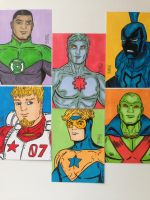 Leaguers Sketch Cards by seanpatrick76