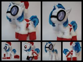 Christmas DJ Pon3 Collage by munchforlunch