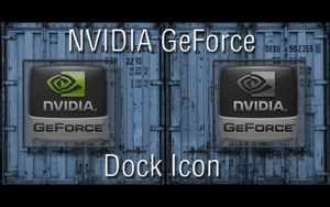 NVIDIA GeForce-Dock Icon by GiggsyBest