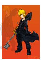 Roxas by TheLeapofFaith