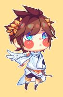 Pit (Kid Icarus) by BottleWonderland