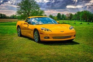 Dads Corvette HDR by docx