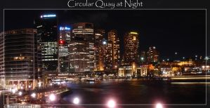 Circular Quay at Night by gantengx