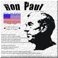 Ron Paul Splash Page by DrakeAlturas