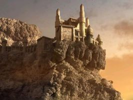 Castle on the Mountain by e-designer