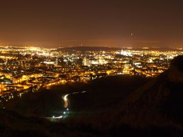 View from Arthurs Seat by macrodger