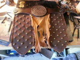 Dragonborn themed belt by theDOC30427