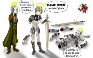 Game over XD by 4enro