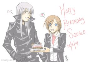 130309 Happy Birthday Squalo by shottogurasu