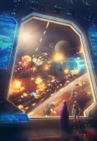 The Circuit: Progeny of Vale Book Cover by Julian-Faylona