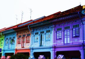Old Singapore in Colour by tugalot