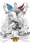 Infamous: Second Son (sketch) by Bing-Ratnapala