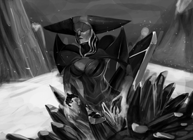 Lissandra Doodle by TheBoogie