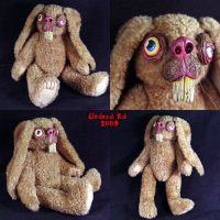 Albert The Rabbit OOak Plush by Undead-Art