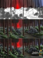 Process for Mental Forest by VonStreff