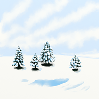 Four Firs by katiejo911