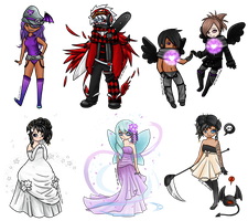 gaia commission batch 1 by Iced-Stars