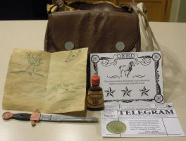 Inside Marston's Bag by oberious
