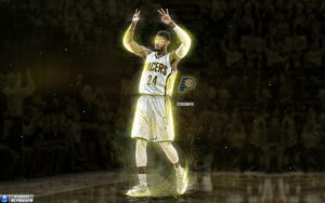Paul George | Wallpaper by ClydeGraffix
