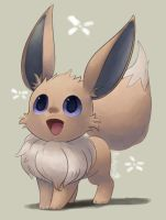 Eevee by Bukoya-Star