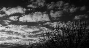Cloudy sky by KB-Fotografie