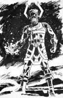 Galactus Sketch by BillReinhold