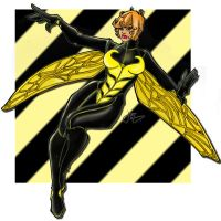 The Wasp Coloured. by Highlander0423
