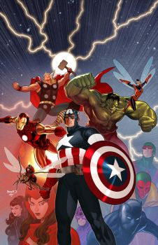 Avengers Secret Wars by PaulRenaud