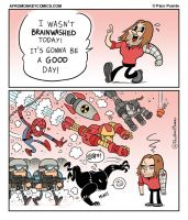 Everybody hates Bucky by PacoAfroMonkey