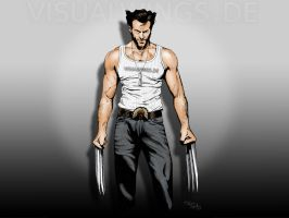 Visualwings: Wolverine Wall by visualwings