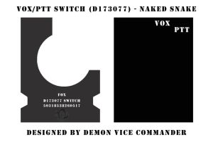 VOX-PTT Switch Box Snake Eater by demon-vice-commander