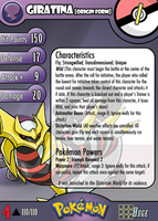 #487 Wild Giratina by PokemonCMG