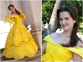 belle - beauty and the beast - by AngelicHeart