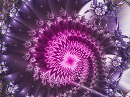 Radiant Spiral by janinesmith54