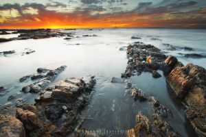 Seapoint at Sunset II by somesoul