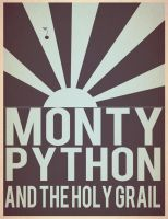 Monthy Python + The Holy Grail by sdotwhoa