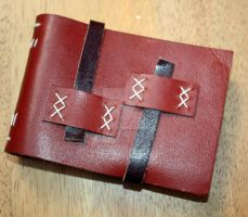 Handmade Leather Notepad by Bluelisamh